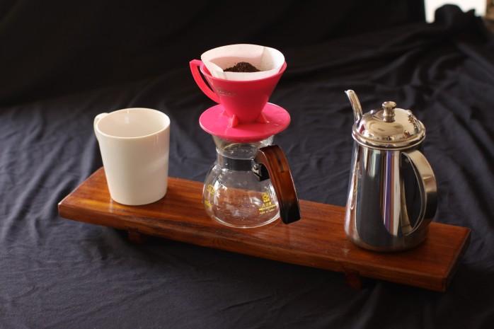 咖啡 木製台盤