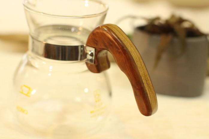 咖啡濾杯 木製手把04