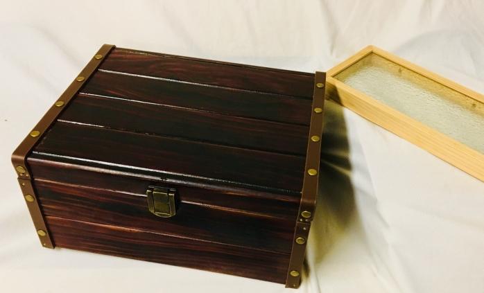 經典珠寶盒(漆+皮)